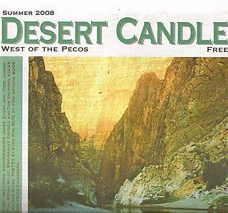 Desert candle