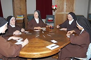 Nuns scattergories