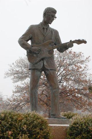 Buddy statue