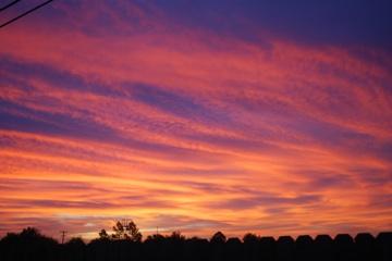 Midland sky at morning